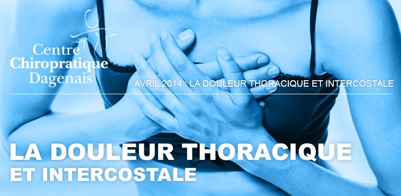 Avril 2014 : La douleur thoracique et intercostale