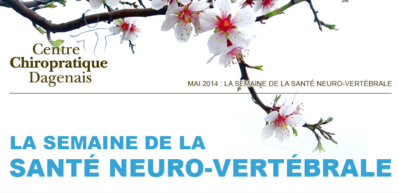 Mai 2014 : La semaine de la santé neuro-vertébrale