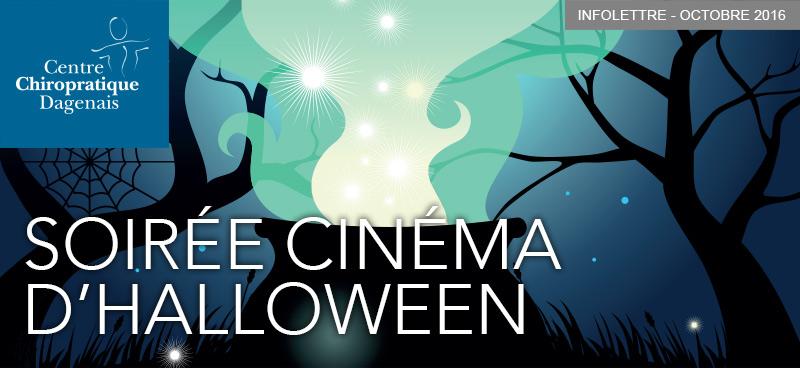 Octobre 2016 : Infolettre Soirée cinéma d'halloween