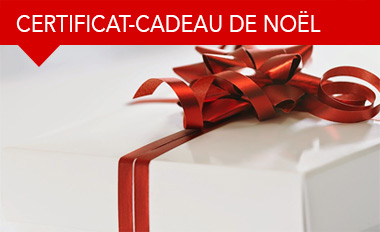 Certificat-cadeau de Noël