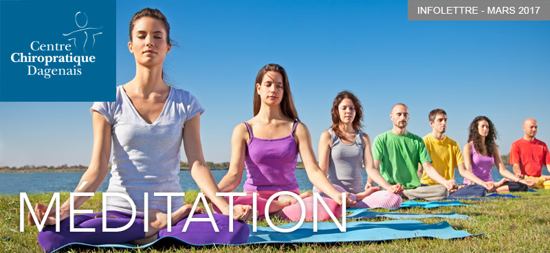 Mars 2017 : Infolettre Méditation