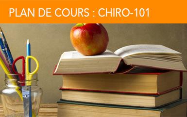 Plan de cours : Chiro-101