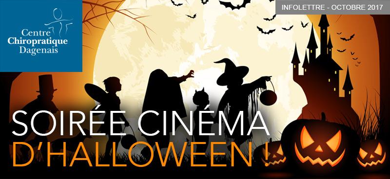 Juin 2017 : Soirée cinéma d'Halloween !