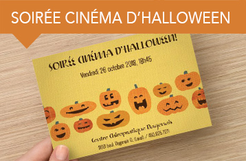Soirée cinéma d'halloween