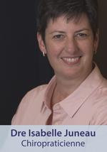 Dre Isabelle Juneau chiropraticienne